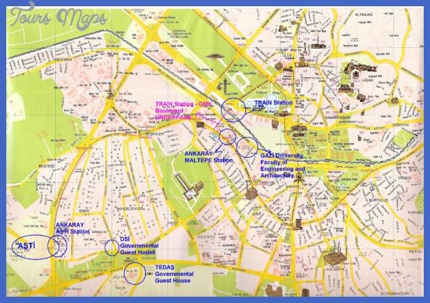 Ankara Map Pdf