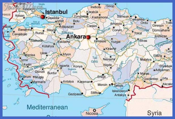Ankara Map ToursMapscom