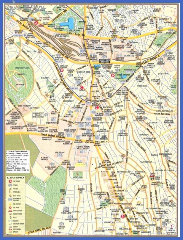ankara maps  1 Ankara Maps