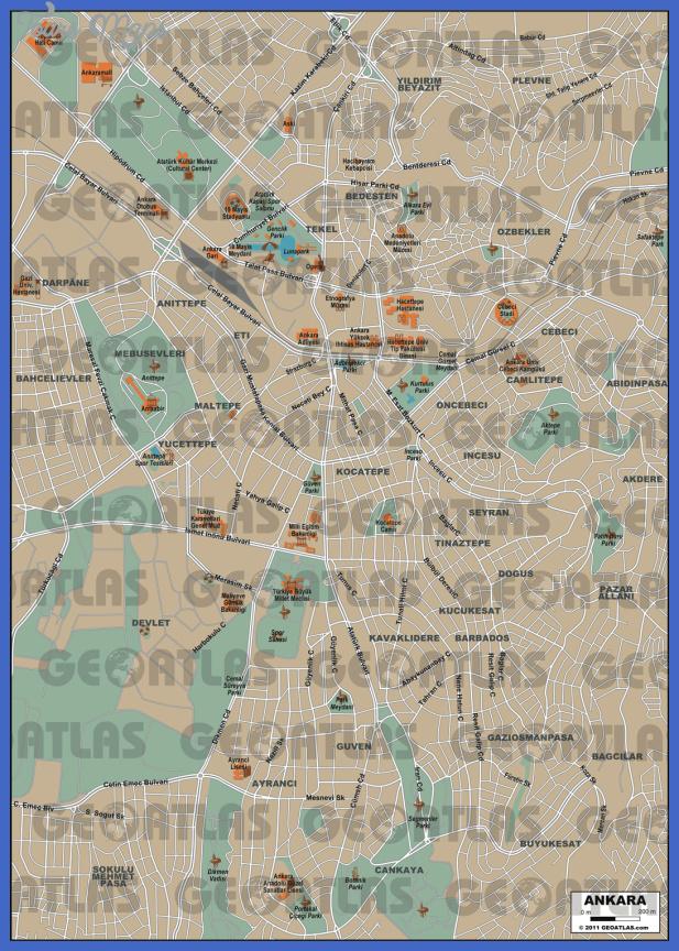 ankara Ankara Maps