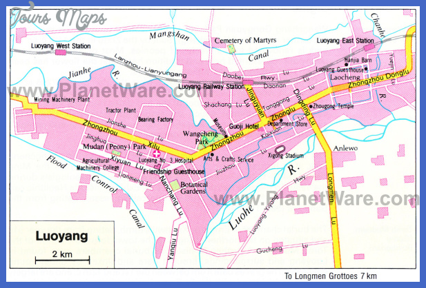 anyang map tourist attractions  5 Anyang Map Tourist Attractions