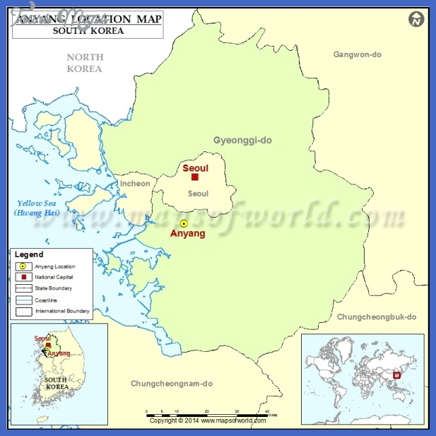 anyang map tourist attractions  7 Anyang Map Tourist Attractions