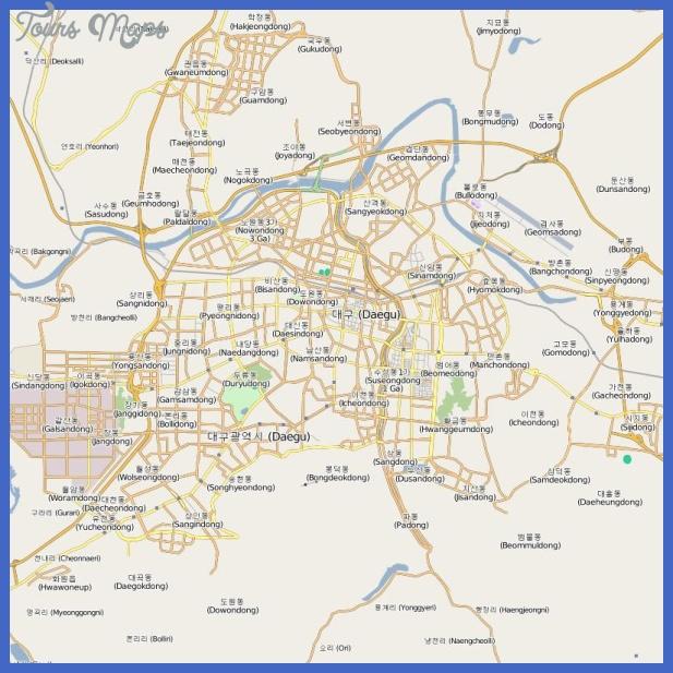anyang metro map  18 Anyang Metro Map