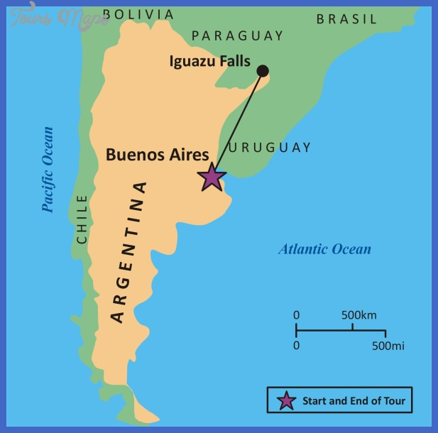 Argentina Map Map Travel Holiday Vacations - Argentina map tourist