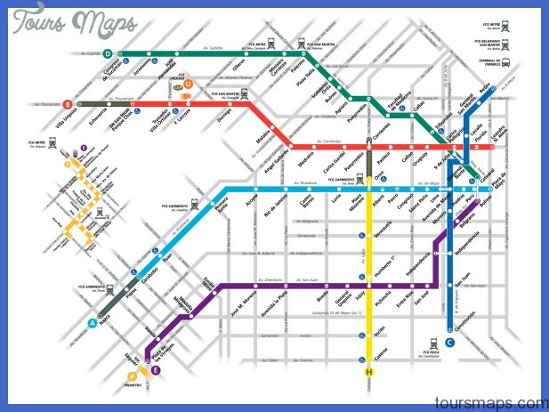 Subway Map Overlay.Buenos Aires Subway Map Overlay Archives Toursmaps Com