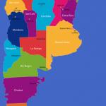 argentinastatesmap 150x150 Argentina Map