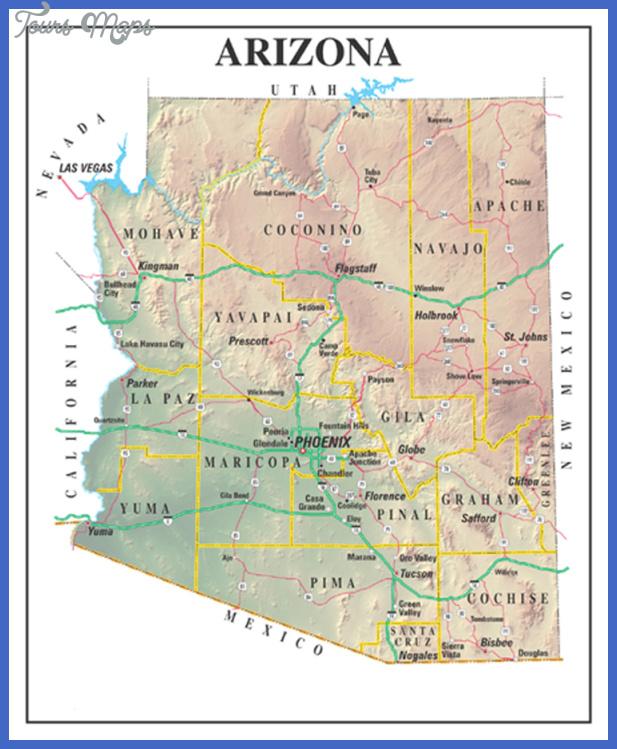 arizonastatemap Gilbert town Map