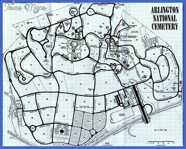 arlingtoncemeterymap Alington Map