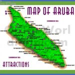 aruba map with attractions 150x150 Congo, Democratic Republic Map Tourist Attractions