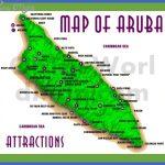 aruba map with attractions 150x150 Congo, Democratic Republic Map Tourist Attractions
