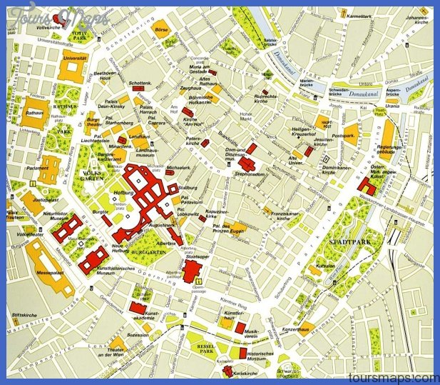 Austria Map Tourist Attractions ToursMapsCom – Austria Tourist Attractions Map