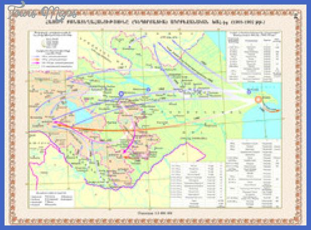 azerbaijan map 4 thumb Baku Sumqayit Map Tourist Attractions