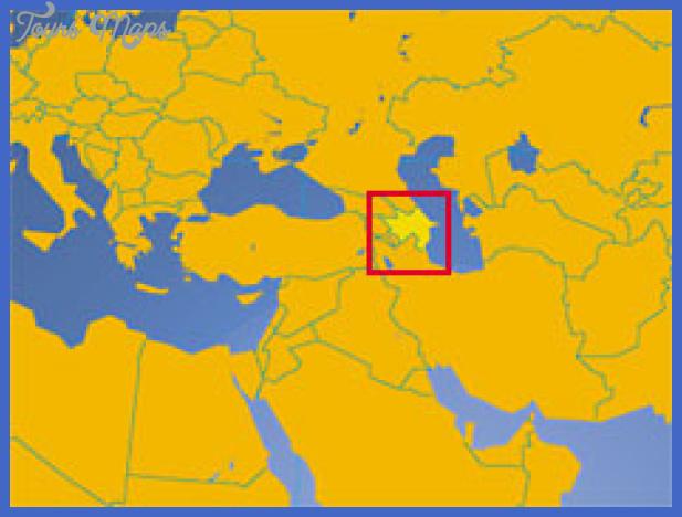 azerbaijan small map Baku Sumqayit Map Tourist Attractions