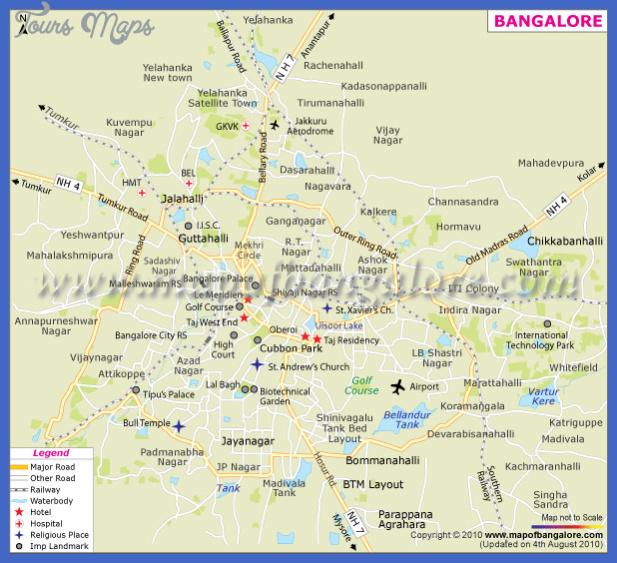 bangalore subway map  0 Bangalore Subway Map