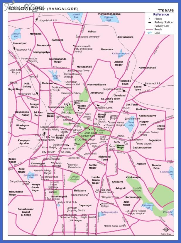 bangalore subway map  2 Bangalore Subway Map