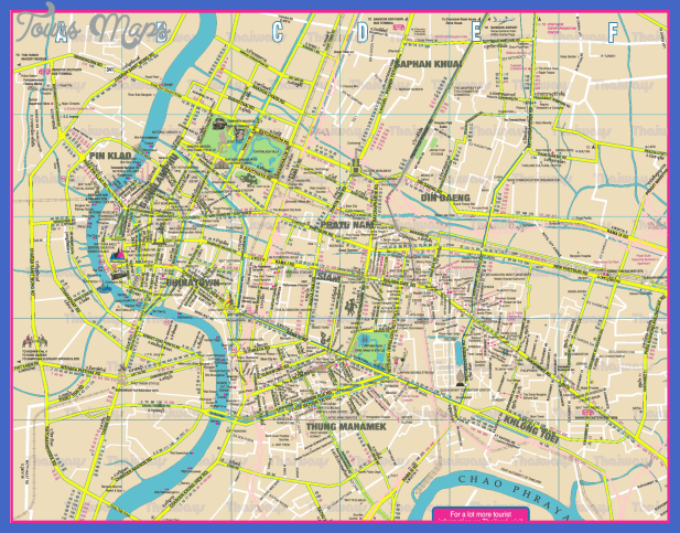 bangkok subway map  0 Bangkok Subway Map