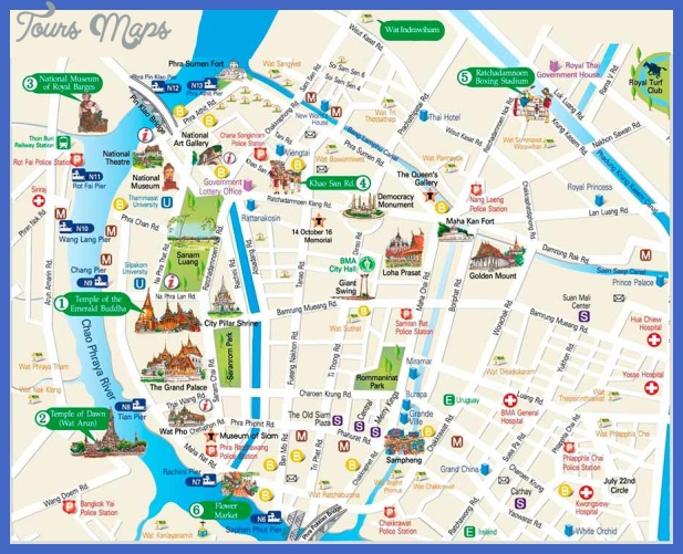 Chile Map Tourist Attractions ToursMapsCom – Tourist Attractions Map In Chile