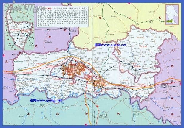baotou map  16 Baotou Map
