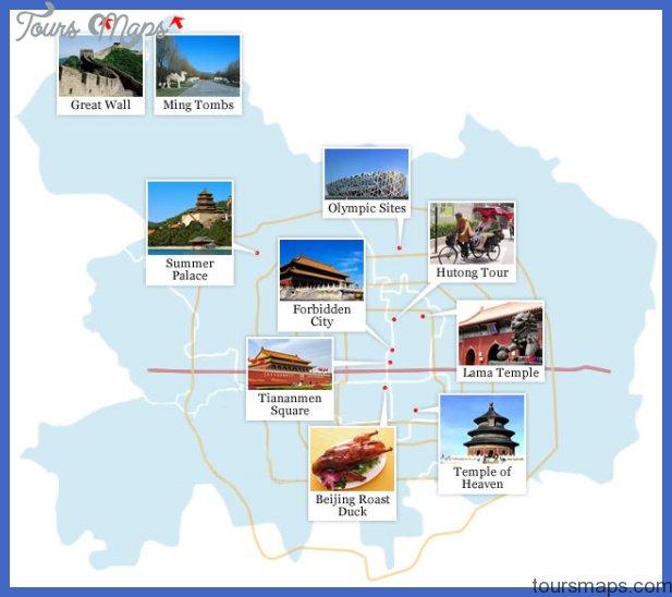 beijing map tourist attractions  4 Beijing Map Tourist Attractions