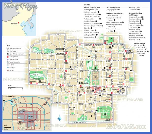 beijing map tourist attractions  9 Beijing Map Tourist Attractions
