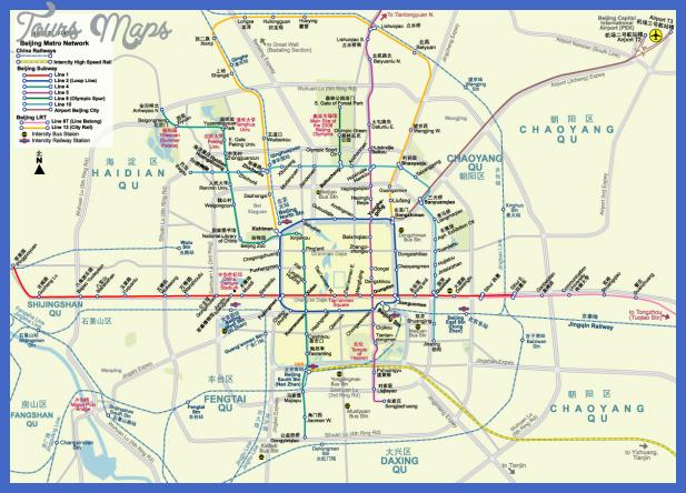 Beijing Subway Map 2021 Good Quality.Beijing Metro Map Toursmaps Com