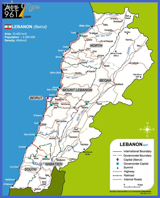 beirut map tourist attractions  2 Beirut Map Tourist Attractions