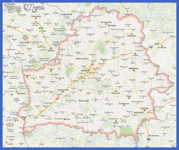 belarus map  19 Belarus Map
