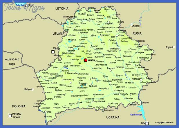 belarus Belarus Map