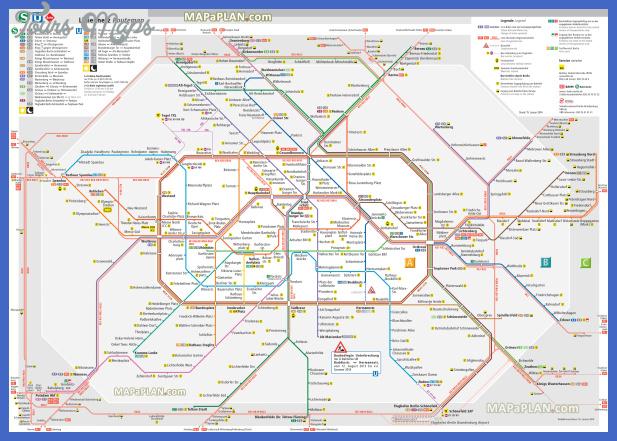 berlin top tourist attractions map 03 metro u bahn untergrundbahn tube underground subway surface rail s bahn a b c zones high resolution Belarus Map Tourist Attractions
