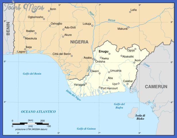 biafra independent state map itsvg Nigeria Metro Map
