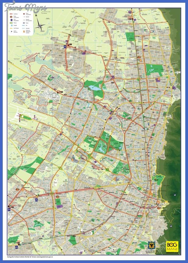bogota subway map  1 Bogota Subway Map