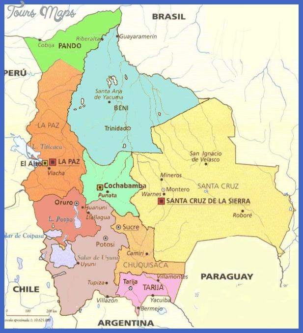 boliviamapa03 Bolivia Map
