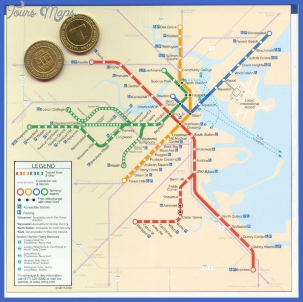 boston subway map Loiseville Subway Map
