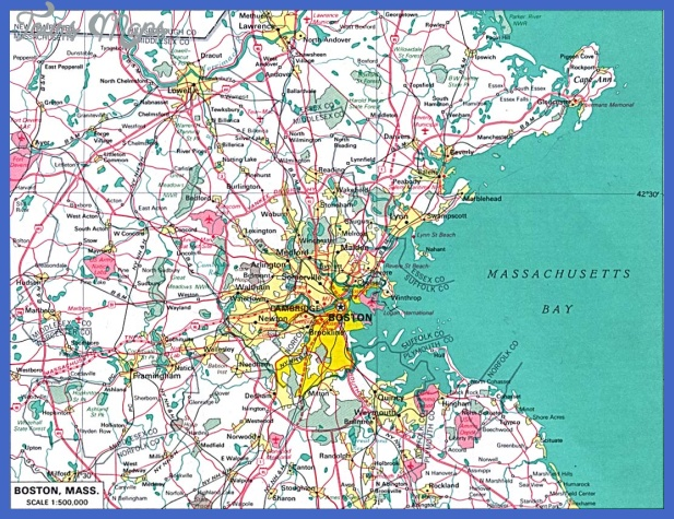boston Boston Map