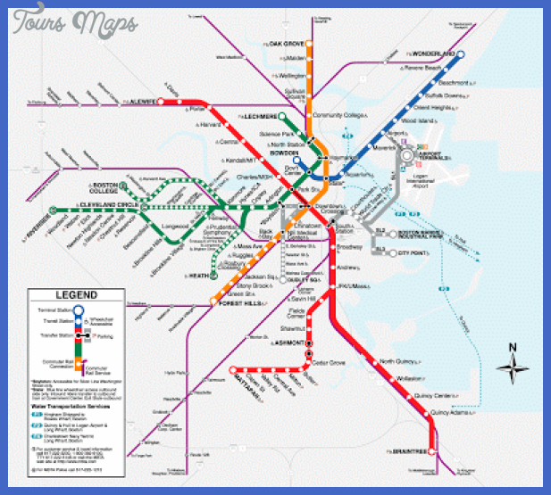 boston t map 1 Loiseville Subway Map