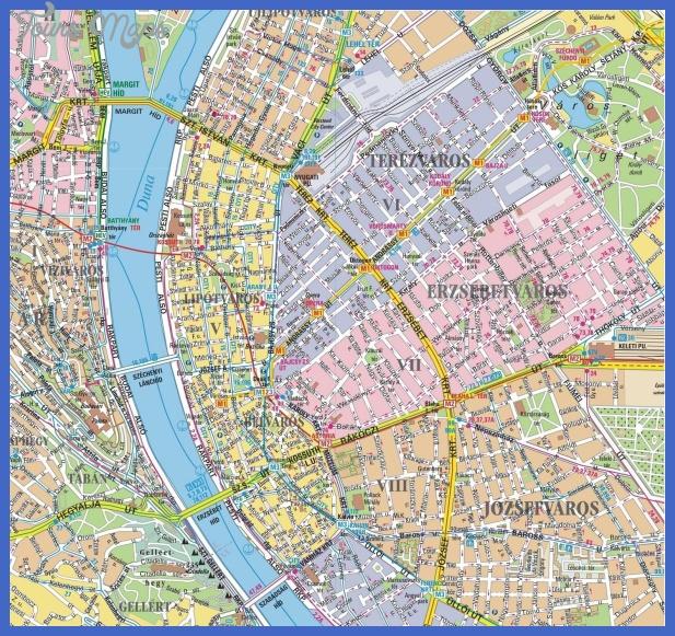 bpmap Budapest Subway Map
