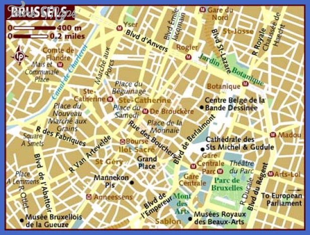 brussels subway map  8 Brussels Subway Map