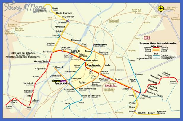 brusselsmetro fr Brussels Metro Map