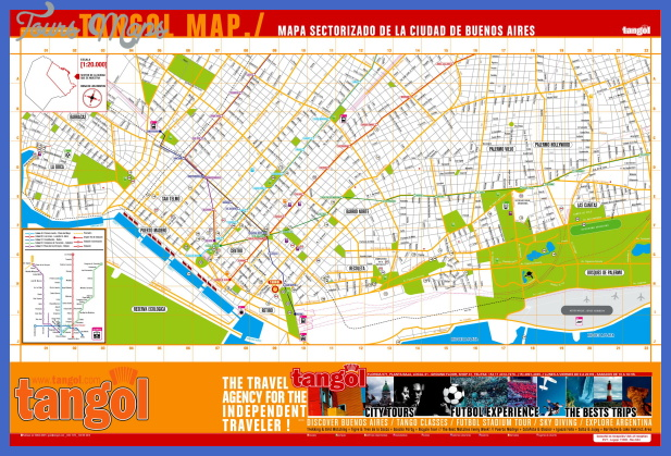 buenos aires map tourist attractions  0 Buenos Aires Map Tourist Attractions