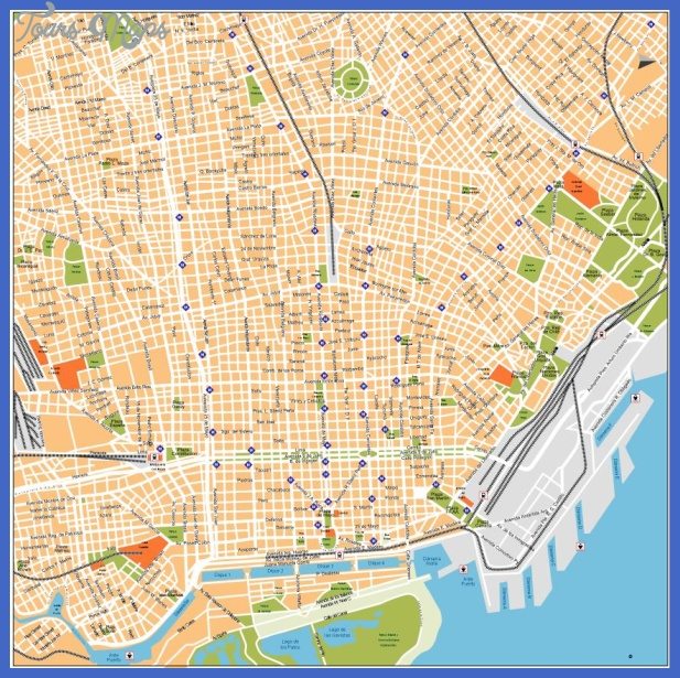 buenos aires2 Buenos Aires Metro Map