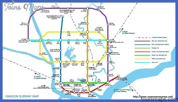 burma subway map  0 Burma Subway Map