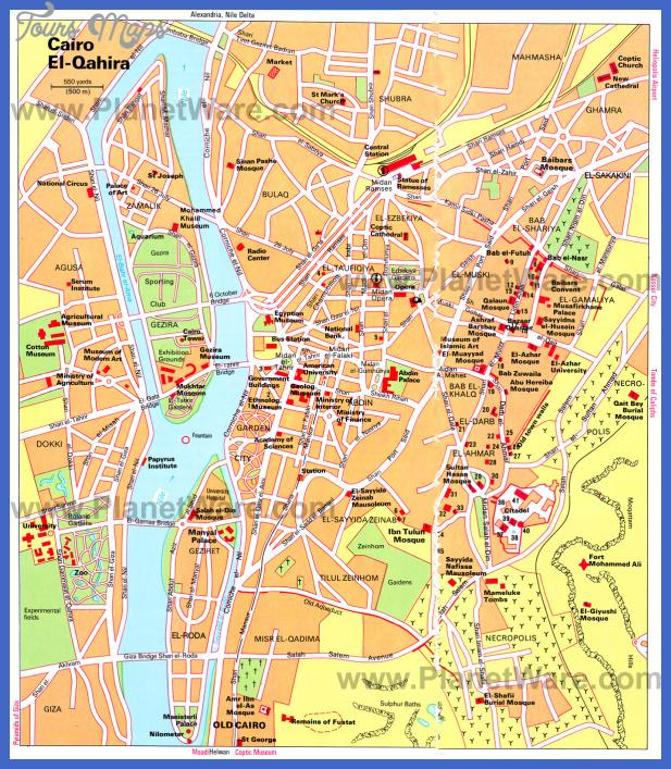 cairo map  0 Cairo Map