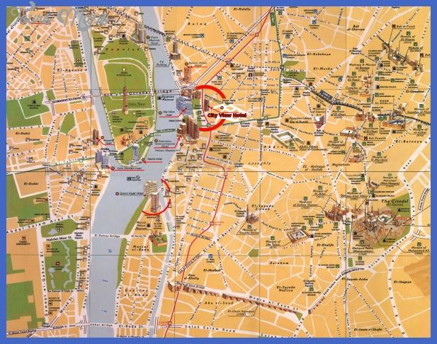 cairo map  1 Cairo Map