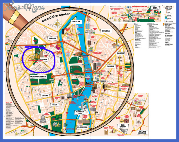 cairo map tourist attractions  1 Cairo Map Tourist Attractions