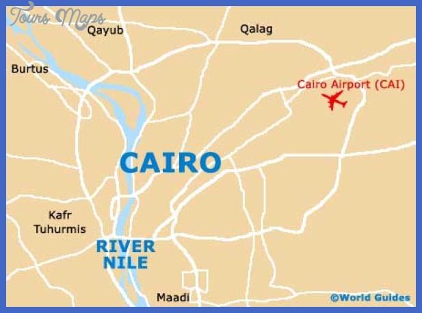 cairo map1 Cairo Map