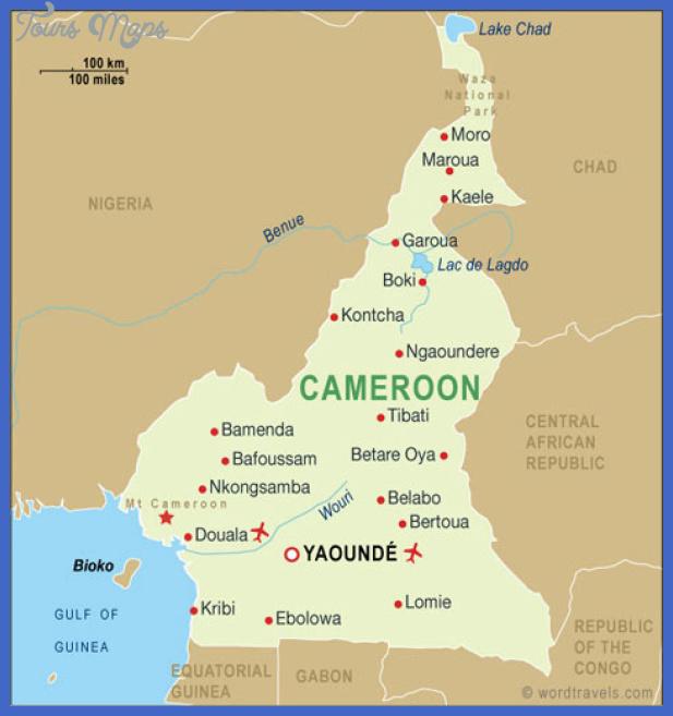 cameroon metro map  2 Cameroon Metro Map