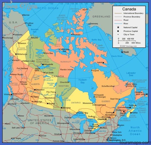 canada map Canada Map
