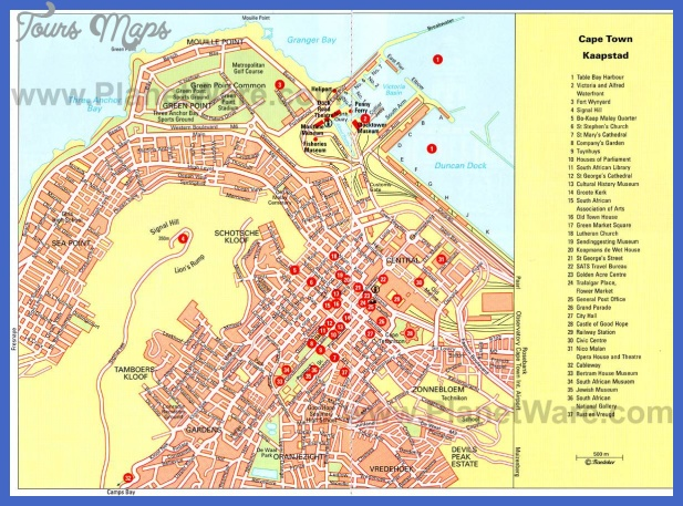 cape town map 3 Cape Town Metro Map