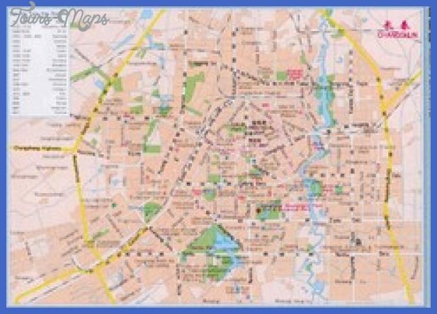 changchun map tourist attractions  2 Changchun Map Tourist Attractions