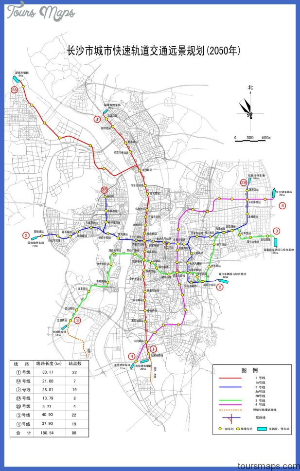 changsha metro map  6 Changsha Metro Map